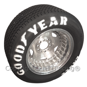 Vintage race tyres